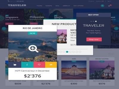 Sitio web de la agencia de viajes
